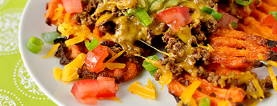 Recipe of the Month! – Sweet Potato Nachos